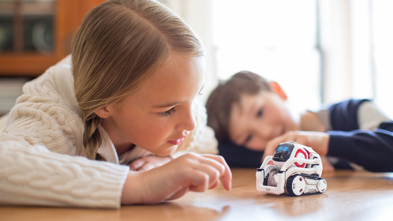 Children Playing with Cozmo